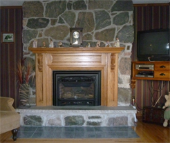 Frayne custom cabinets, custom fireplace by Frayne custom cabinets, fireplace mantels, wood fireplace enclosure, fireplace inserts, corner fireplace units, custom fireplace cabinetry